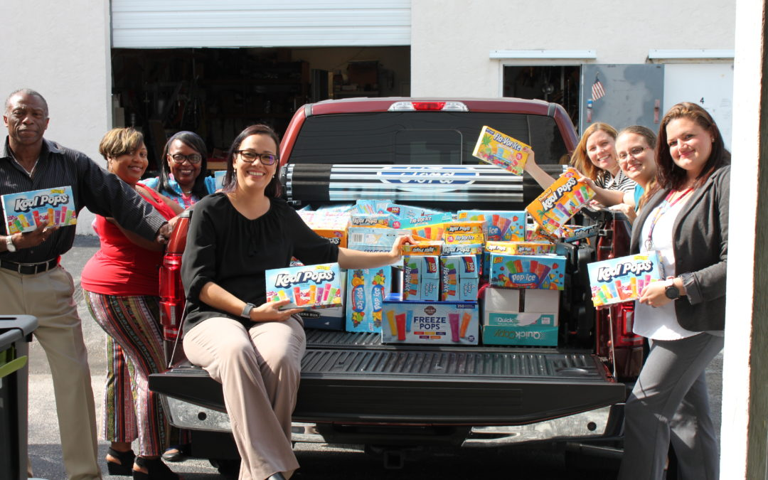 Tax Collector's Office Donation Helps Local Kids
