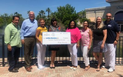 Legacy Place Donates $13,800 to Little Smiles