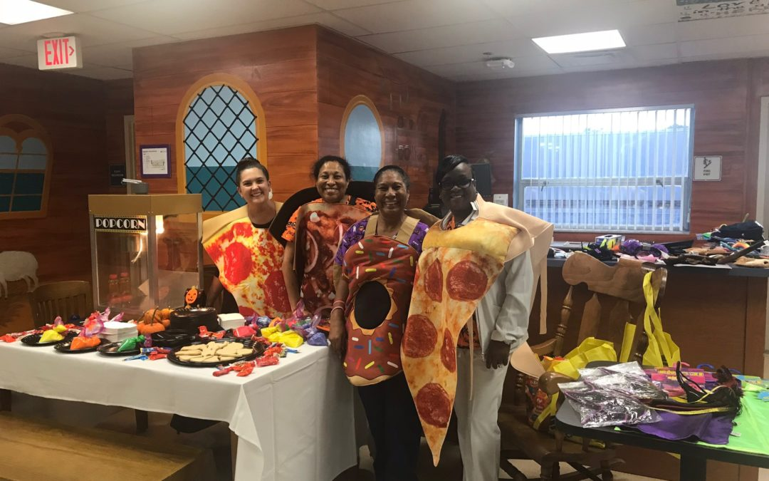 Halloween at Plantation General Hospital